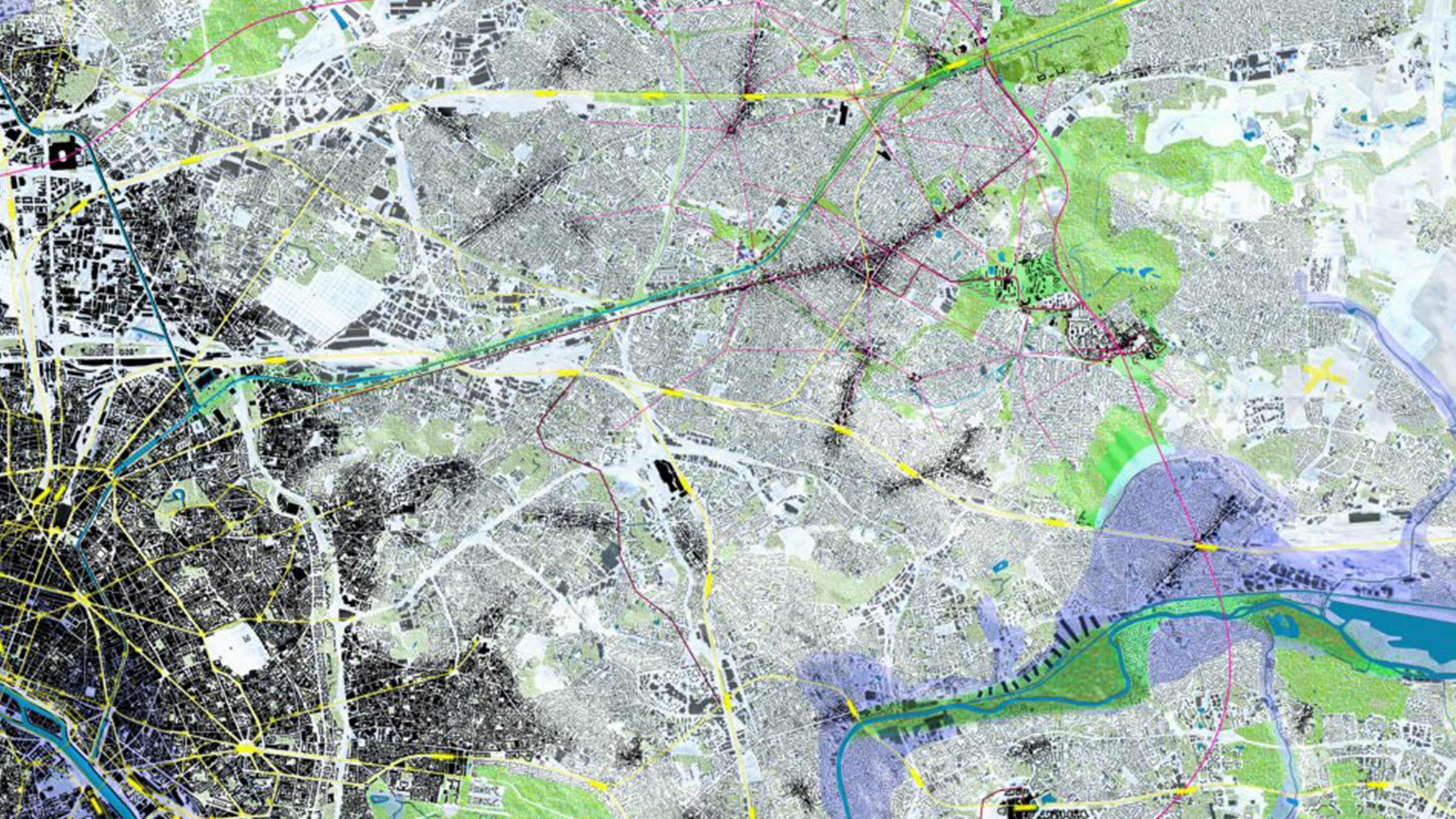 Северо-Восточная периферия Парижа