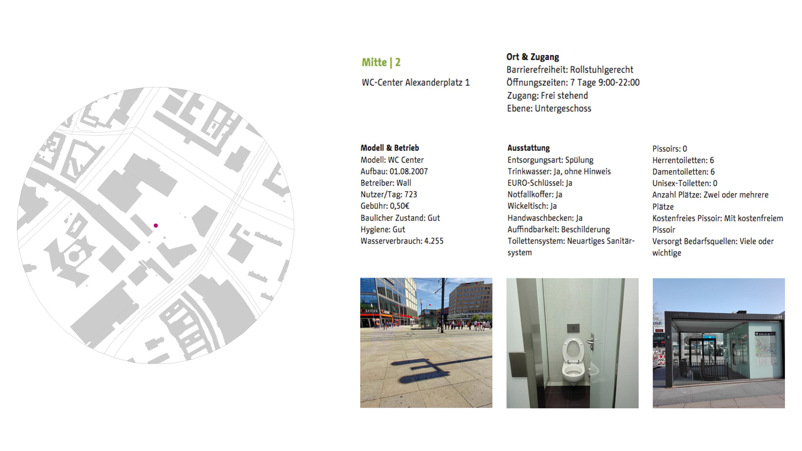 Öffentliche Toiletten für Berlin