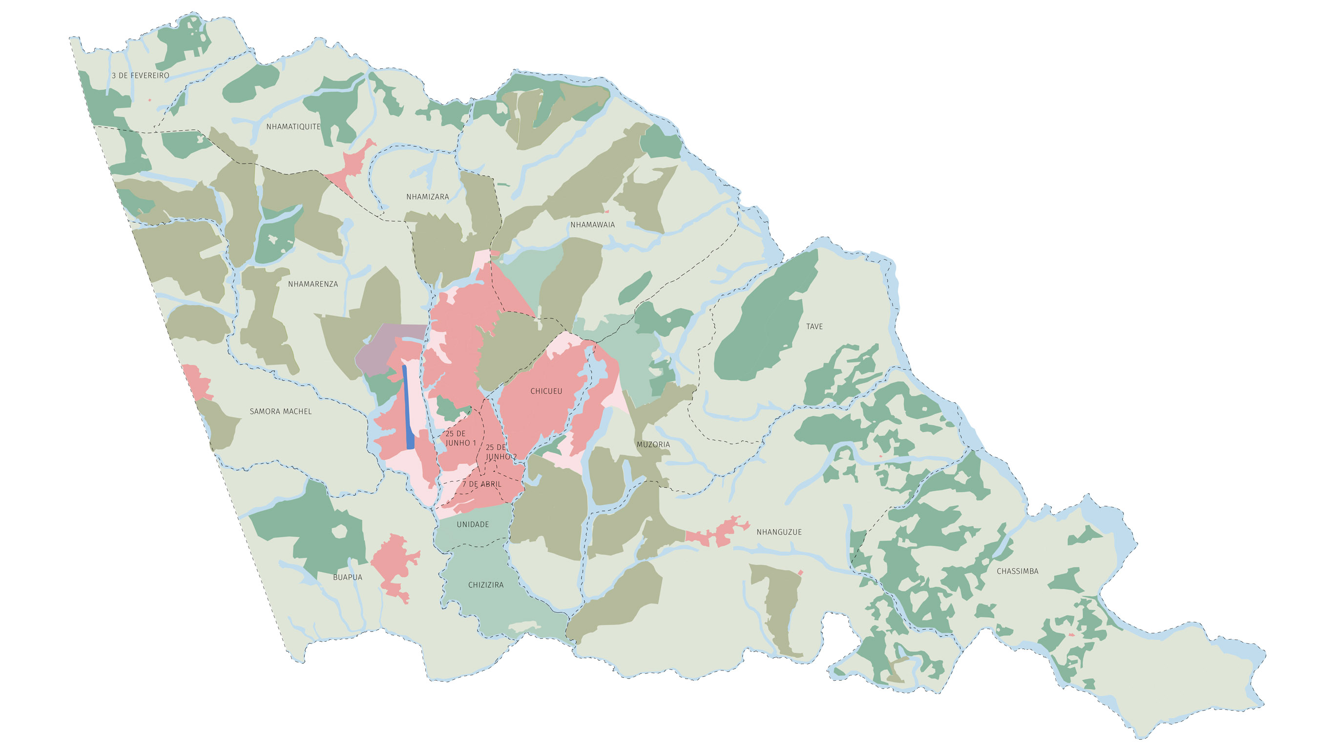 Structural Plan for Sussundenga (Plano de Estrutura Urbana – Vila de Sussundenga)