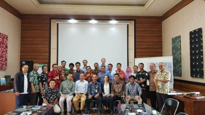Consortium team with the Municipality in Wonosobo