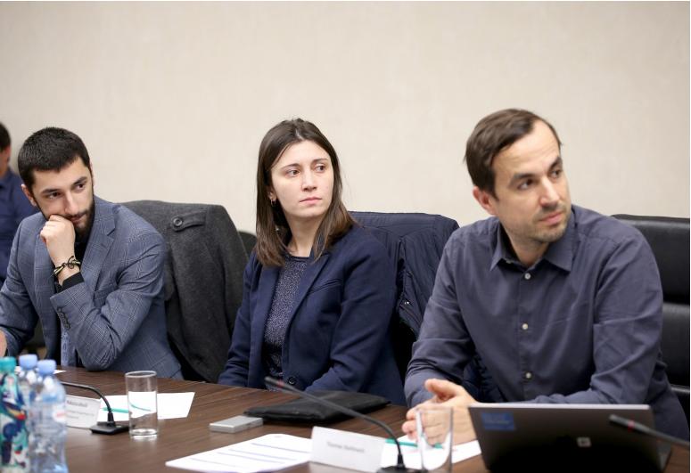Irakli Mtskhvetadze, Gvantsa Nikolaishvili and Thomas Stellmach