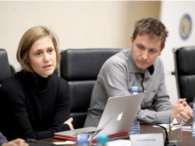 Franziska Schreiber and Evandro Holz