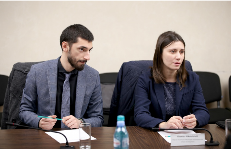 Irakli Mtskhvetadze and Gvantsa Nikolaishvili