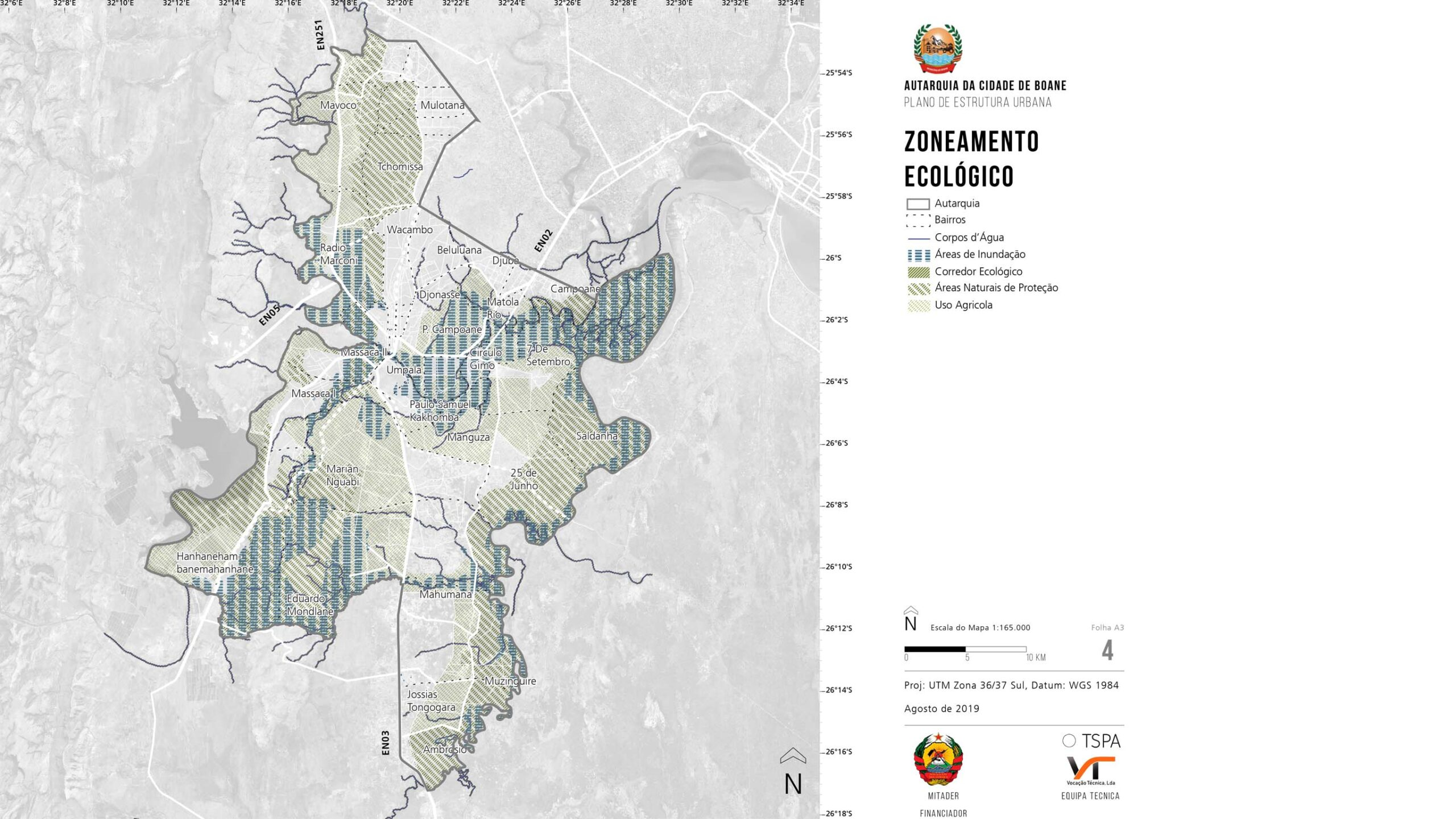 Structural Urban Plans in five cities of Mozambique